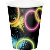 Creative Converting Glow Paper Disposable Cup Paper in Black | Wayfair DTC318133CUP