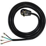 Certified Appliances 10' Universal Dryer Cord in Black, Size 2.6 H x 120.0 W in   Wayfair 90-2028