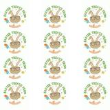 The Holiday Aisle® Easter Personalized 72 Piece Sticker & Treat Bag Set | Wayfair 691BC15AB10844B9BD2F015275956FA7