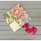 Harriet Bee Fassett Portable Changing Pad Cotton in Green/Pink/Yellow, Size 24.5 H x 13.0 W x 0.13 D in | Wayfair 7202198D9E5D4E46A64659ABD4A3DD71