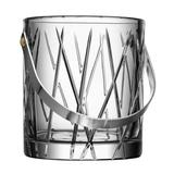 Orrefors City Ice Bucket Glass/Crystal in Gray, Size 6.0 H x 5.29 W x 5.29 D in | Wayfair 6310397