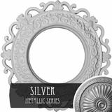 """Ekena Millwork 13 1/4""""OD x 6 5/8""""ID x 1 1/8""""P Orrington Ceiling Medallion (Fits Canopies up to 6 5/8"""") in Gray, Size 13.25 H x 13.25 W x 1.125 D in"""