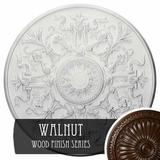 """Ekena Millwork 33""""OD x 1 3/4""""P Versailles Ceiling Medallion (Fits Canopies up to 3 1/4"""") Urethane, Size 33.0 H x 33.0 W x 0.0689 D in   Wayfair"""