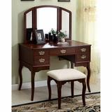 "Fleur De Lis Living Courtright Vanity w/ Mirror, Wood/Solid Wood, Size 30""H X 19""W X 43""D 