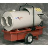 """Frost Fighter 210,000 BTU Portable Natural Gas/Propane Forced Air Utility Heater Outlet: Single 16"""", Add Duct Hose: Duct Hose 12"""" Diameter, 12'"""