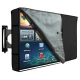 Khomo Gear Universal Weatherproof Protector TV Cover in Black, Size 19.0 H x 19.0 W x 4.0 D in | Wayfair GER-1065