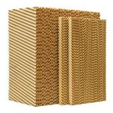 """MasterCool 12"""" Evaporative Cooler Replacement Pad in Brown, Size 22.88 H x 41.25 W x 12.0 D in 