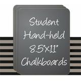 "NeoPlex Lap Board Chalkboard, 11"" x 8.5"" High Pressure Laminate in Black, Size 11.0 H x 8.5 W x 0.5 D in | Wayfair CBB-30SET"
