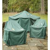 Plow & Hearth All-Weather Square Air Conditioner Cover in Green, Size 30.0 H x 34.0 W x 34.0 D in   Wayfair 63723 GR