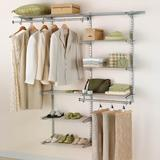 """Rubbermaid Commercial Products Configurations 36""""W - 72""""W Closet System Wire/Metal in Brown, Size 72.0 H x 12.85 D in   Wayfair 2060347"""