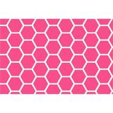 Sheetworld Honeycomb Fitted Bassinet Sheet 100% Cotton in Pink   Wayfair CB-W983