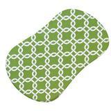 Sheetworld Links Fitted Bassinet Sheet 100% Cotton in Green   Wayfair HL-W146