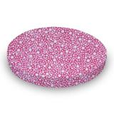 Sheetworld Confetti Dots Fitted Crib Sheet Cotton in Pink, Size 47.0 H x 26.0 W x 47.0 D in | Wayfair SK-W1125