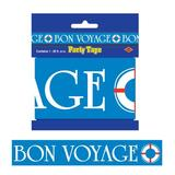 The Beistle Company Bon Voyage Party Tape Wall Decor in Blue, Size 3.0 H x 240.0 W in | Wayfair 66180