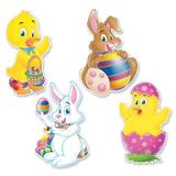 The Beistle Company 4 Piece Easter Standup Set, Size 18.0 H x 10.0 W x 0.125 D in | Wayfair 44026