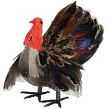 The Holiday Aisle® Fall/Thanksgiving Feather Plastic in Brown, Size 5.0 H x 5.0 W x 5.0 D in | Wayfair THLA7941 40758446