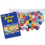 The Holiday Aisle® Plastic Balloon Bag Plastic in Blue/Red/Yellow   Wayfair THLA8155 40758860