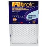 "3M Filtrete Ultra Allergen Reduction Air Filter, Size 20"" H x 12"" W x 1"" D   Wayfair 2019DC-6"