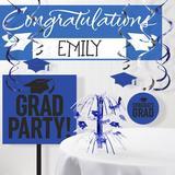 The Party Aisle™ Graduation School Decoration Kit in Blue   Wayfair 7E1B45D58F9B48348A40B7B05CBC9319