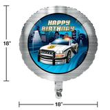 The Party Aisle™ Police Birthday Party Decoration Set in Blue/Yellow | Wayfair E600FD8A211B43C6A537F3C8A400E0B2