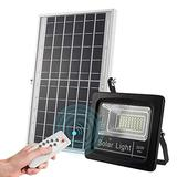 Outdoor Solar Flood Lights 30W, 1200 lumens IP67 Waterproof Solar Powered Flood Light, with Remote Control Switch, Dusk to Dawn Solar Security Light for Sign, Garden, Farm, Shed, Pool,