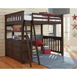 Highlands Full Loft Bed Espresso - Hillsdale 11080N