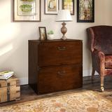 kathy Ireland® Office by Ironworks Lateral File Cabinet in Coastal Cherry