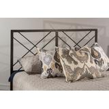 Westlake Full/Queen Headboard in Magnesium Pewter (Frame Not Included) - Hillsdale 2166-490
