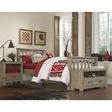Highlands Harper Twin Bed Driftwood - Hillsdale 10050N