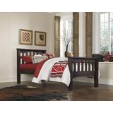 Highlands Harper Full Bed Espresso - Hillsdale 11055-1N