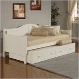 Staci Daybed White w/ Trundle Drawer - Hillsdale Furniture 1525DBT