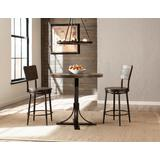 Jennings 3 Piece Counter Height Dining Set w/ Swivel Counter Height Stools - Hillsdale 4022CDPS3PC