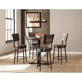 Jennings 5 Piece Counter Height Dining Set w/ Swivel Counter Height Stools - Hillsdale 4022CDPS5PC