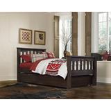 Highlands Harper Full Bed w/ Trundle in Espresso - Hillsdale 11055-1NT