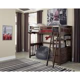 Highlands Twin Loft Bed Espresso - Hillsdale 11070N