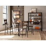 Jennings 5 Piece Counter Height Dining Set w/ Non-Swivel Counter Height Stools - Hillsdale 4022CDP5PC