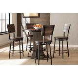 Jennings 5-Piece Round Counter Height Dining Set w/ Swivel Counter Stools - Hillsdale 4022CDTS5PC
