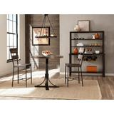 Jennings 3 Piece Counter Height Dining Set w/ Non-Swivel Counter Height Stools - Hillsdale 4022CDP3PC