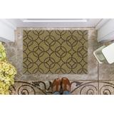 Trio Briony Wasabi & Chocolate 1.10x2.10 - Linon Home Decor RUG-TA06323