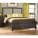 Yosemite King-size Upholstered Panel Bed in Café - Modus 7YC9P7