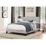 Nicole Full Size Bed in One w/ Glacier Gray Fabric - Hillsdale 2010-460