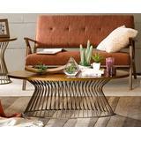 INK+IVY Mercer Coffee Table in Bronze - Olliix FPF17-0356