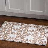 Elegance Florence Ivory & Brown 2x3 - Linon Home Decor RUG-EE3223