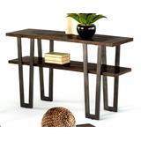 Sedona Sofa Table in Wire Brushed Light Elm - Progressive Furniture P327-05