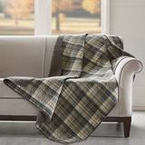 """""""Woolrich Tasha 50x70"""""""" Quilted Throw in Taupe - Olliix WR50-1782"""""""