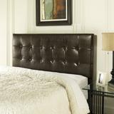 Andover King/Cal King Headboard in Brown Leatherette - Crosley CF90001-601BR