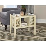 Layla Magazine Table in Cream - Powell D1051A16