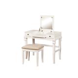 Angela White Vanity Set - Linon 98373WHT-01-KD-U