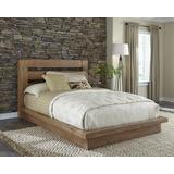 Willow Complete Queen Platform Bed in Distressed Pine - Progressive P608-36P/49P