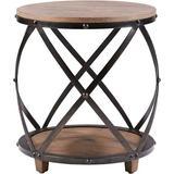 Madison Park Cirque Bent Metal Accent Table in Antique Bronze - Olliix MP120-0180